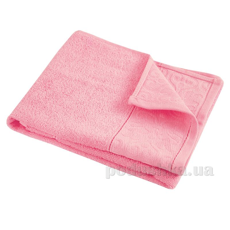 Полотенце махровое Ярослав Лайт розовое