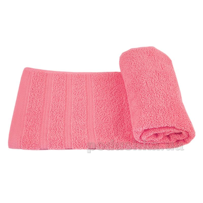 Полотенце махровое Ярослав Софт розовое