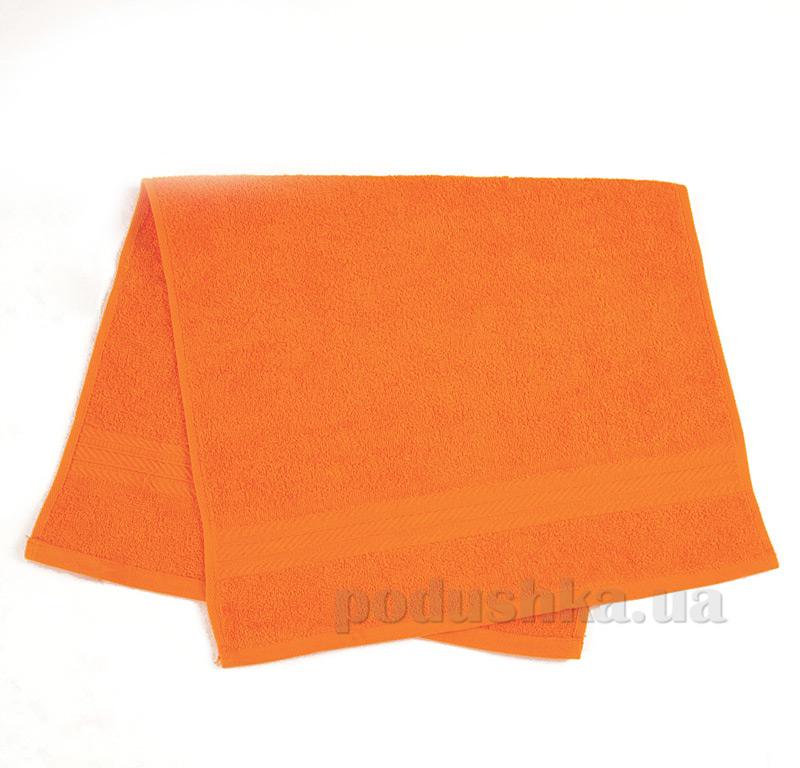 Полотенце махровое Ярослав ту оранжевое