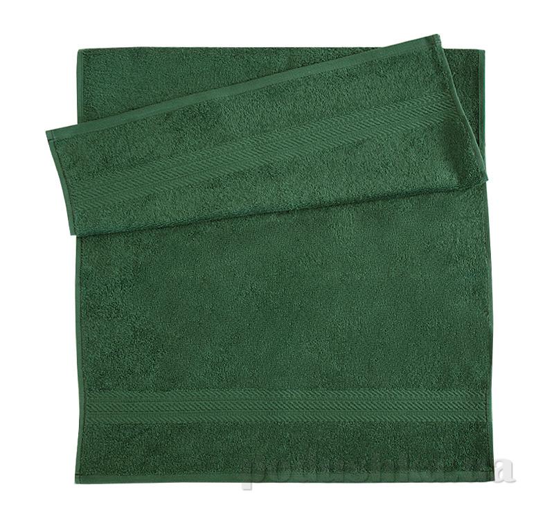 Полотенце махровое Ярослав ту темно-зеленое