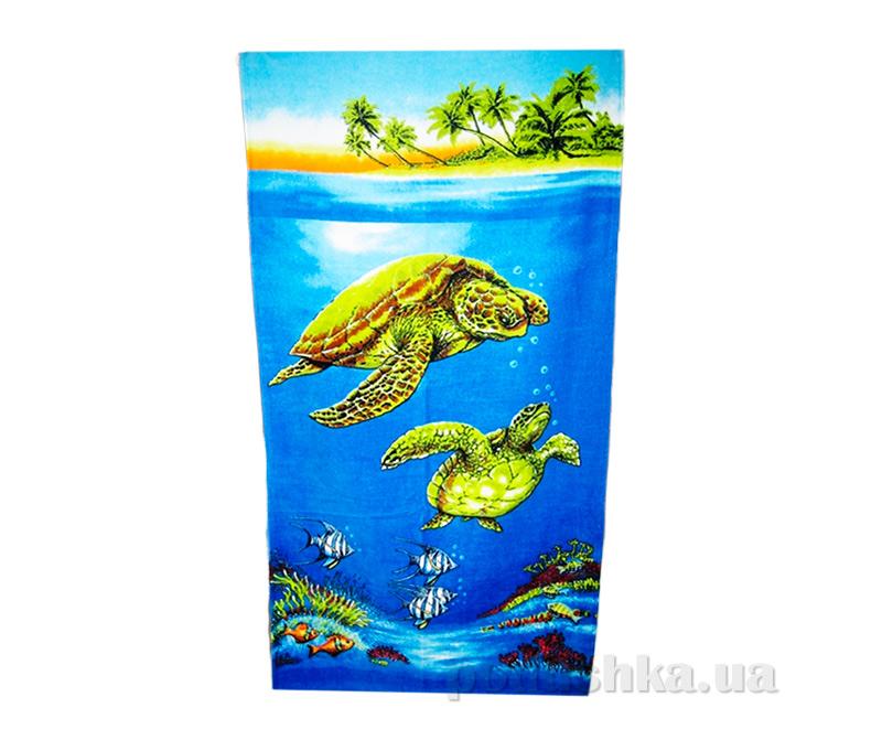 Полотенце пляжное Черепахи