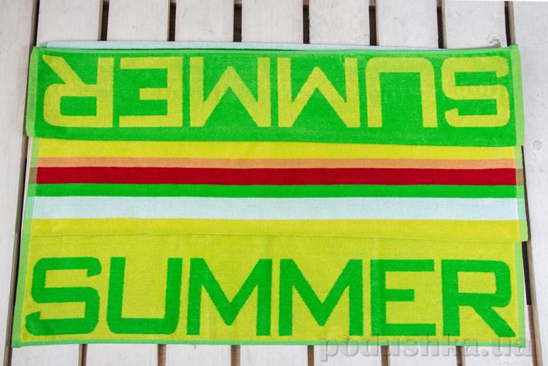 Полотенце пляжное Home Line Summer green