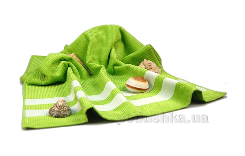 Полотенце пляжное Home Line зелёное