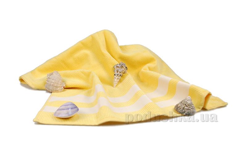 Полотенце пляжное Home Line жёлтое