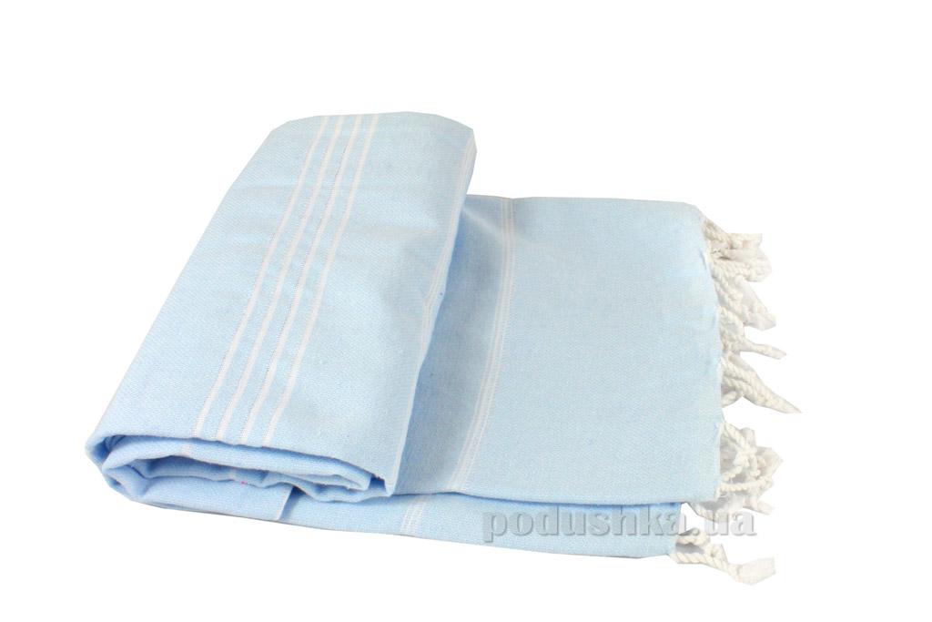 Полотенце пляжное LightHouse Cross Peshtemal голубое №18