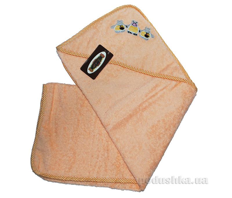 Полотенце с капюшоном Zastelli Бегемотики
