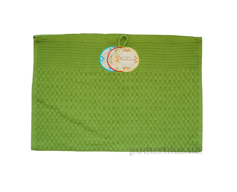 Полотенце вафельное Zastelli 23006 с вышивкой