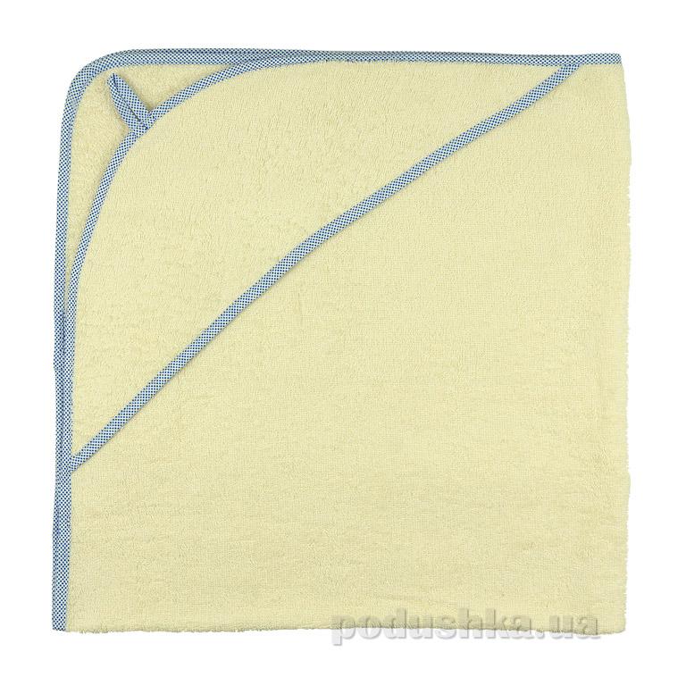 Полотенце-уголок для купания Руно махра молочное