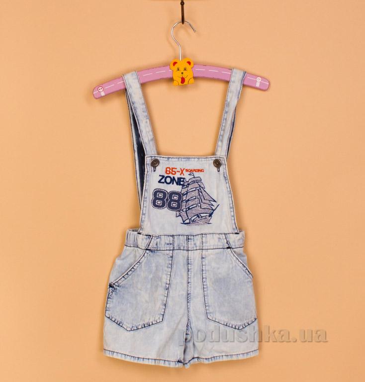 Полукомбинезон джинсовый Gloria Jeans 65832