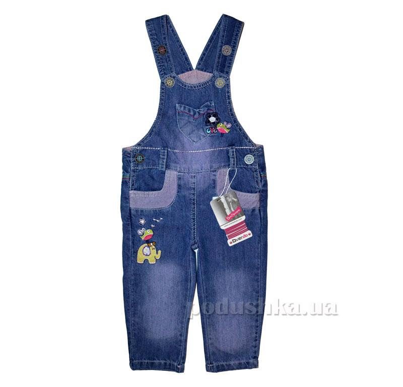 Полукомбинезон Overdo Kids 3923 синий