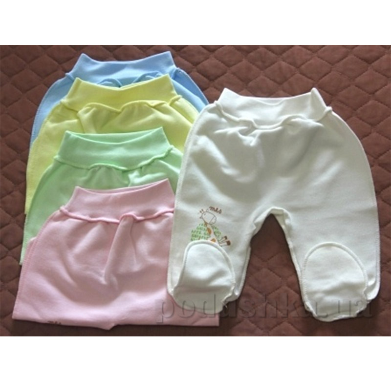 Ползунки для новорожденного интерлок Baby Life 9-019н