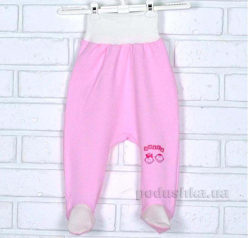 Ползунки Mukka м03607 розовые с молочным