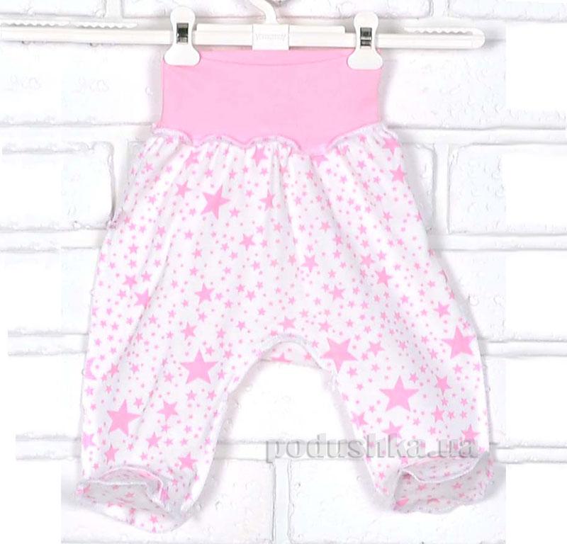 Ползунки Татошка 03607 Звездочки розовые