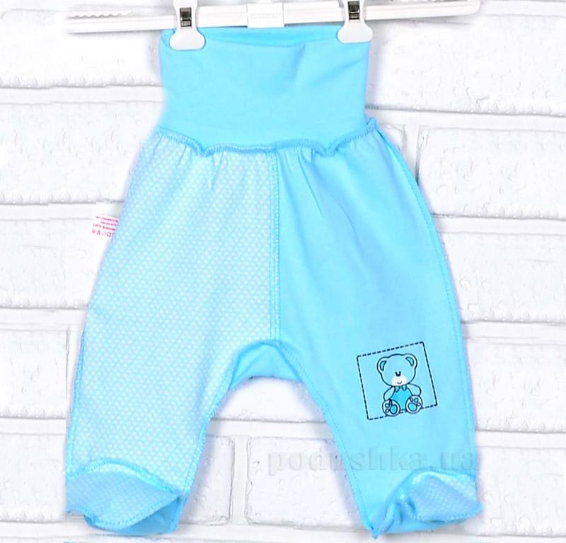 Ползунки утепленные Татошка 03907 голубые