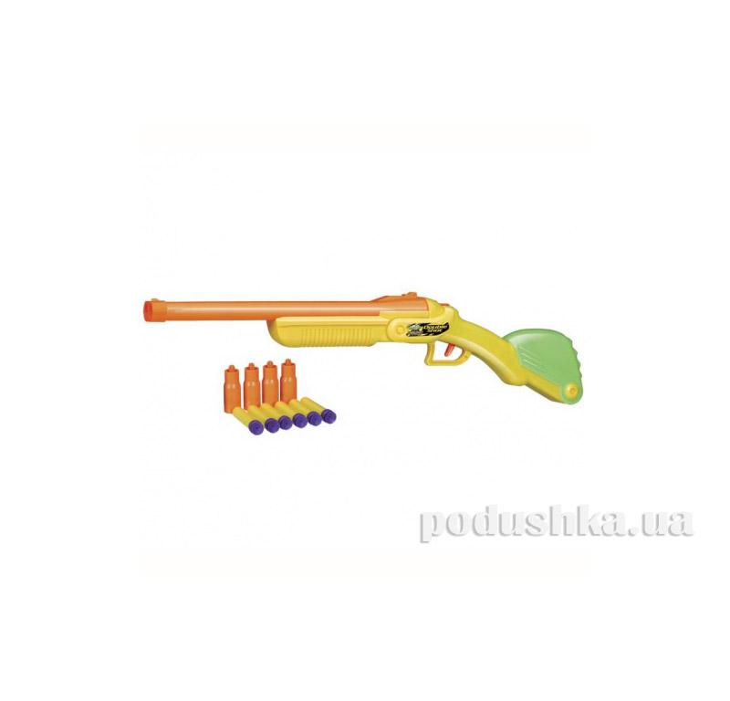 Помповое оружие  Double Shot Blaster 2 типа набоев BuzzBeeToy 05040-50403