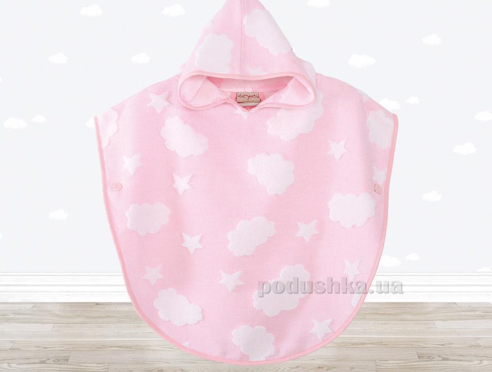 Пончо детское Irya Cloud розовое   Irya