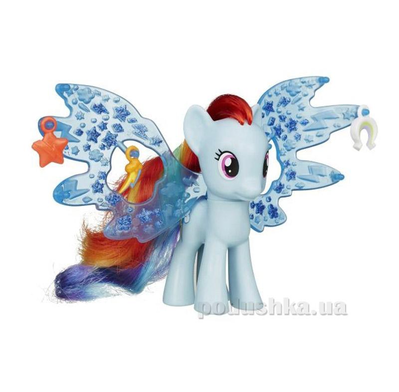 Пони Рэйнбоу Дэш Делюкс с крыльями My Little Pony