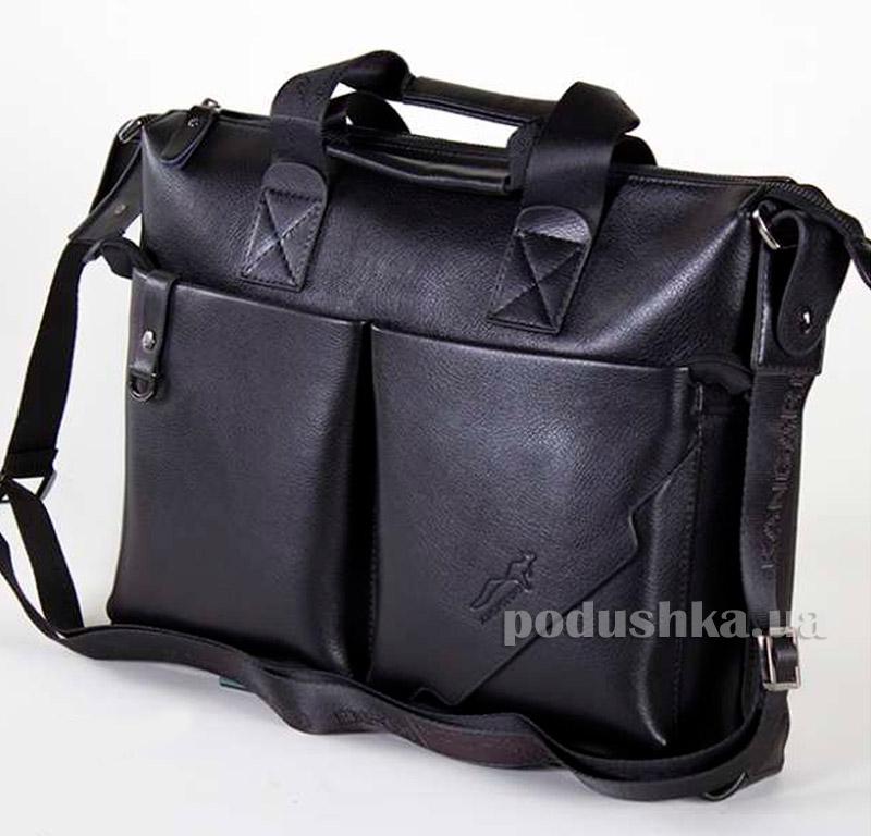 Портфель мужской черный Kangaroo 7170-01