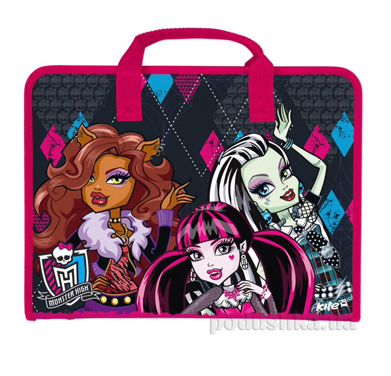 Портфель на молнии Kite Monster High 202