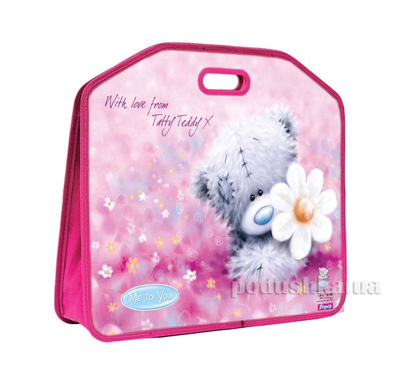 Портфель пластиковый с липучками А3 Мишка Тедди 1 Вересня 1-490911