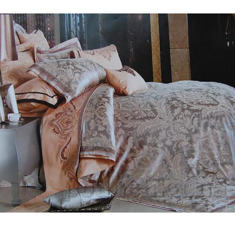 Постельное белье Alltex шелк-сатин с жаккардовым плетением 511016
