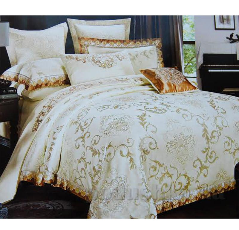 Постельное белье Alltex шелк-сатин с жаккардовым плетением 511017