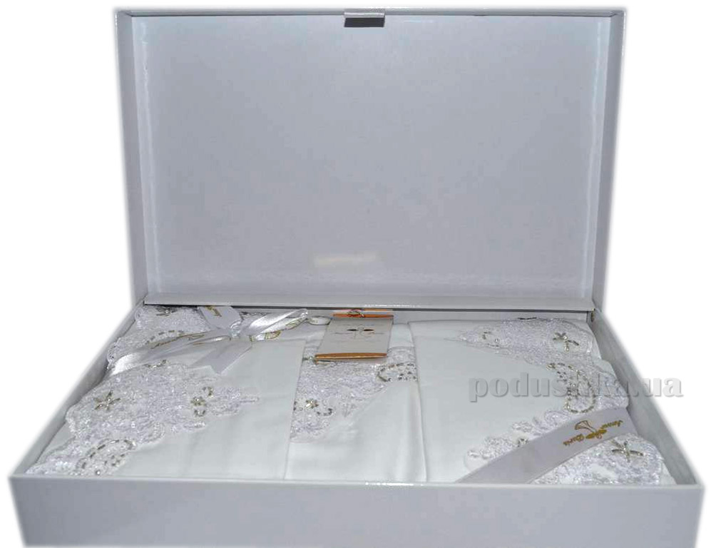 Постельное белье Amour Paris Exclusive белое