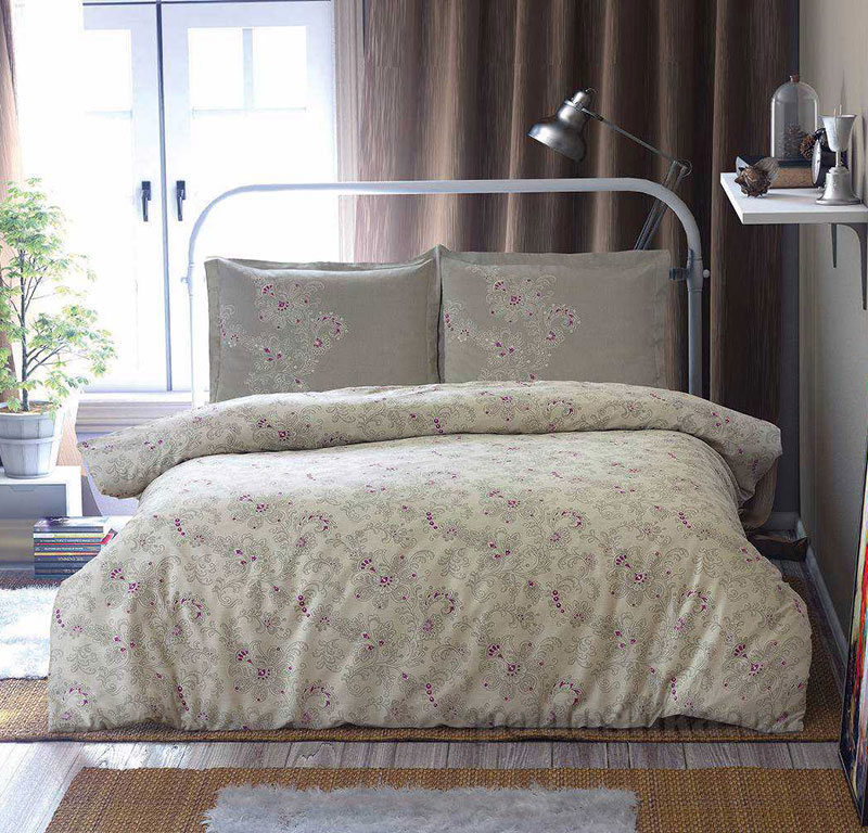 Постельное белье Aran CLASY Sateen Ahsen серый 21157