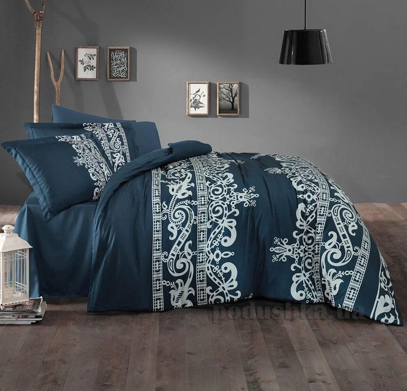 Постельное белье Aran CLASY Sateen Crown синий 51482