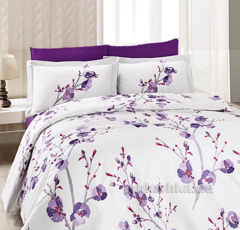 Постельное белье Aran CLASY Sateen Pan фиолетовый 21324