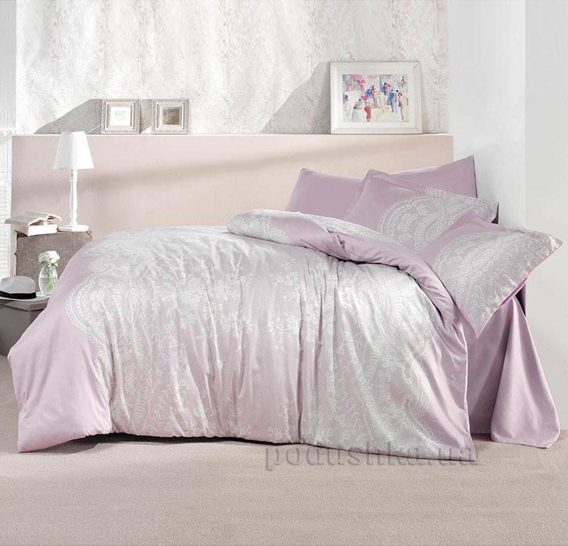 Постельное белье Aran CLASY Sateen Ruche розовый