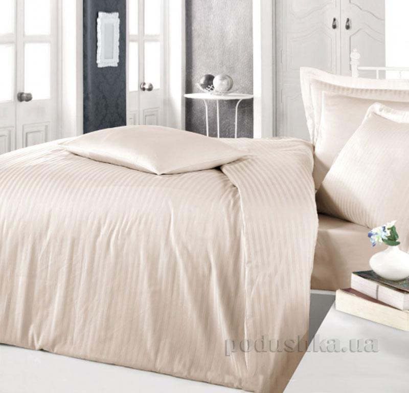 Постельное белье Aran CLASY Stripe Sateen Cappucino