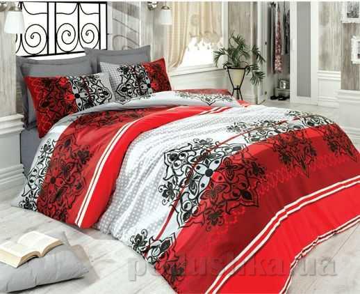 Постельное белье Best Class Elegance красное