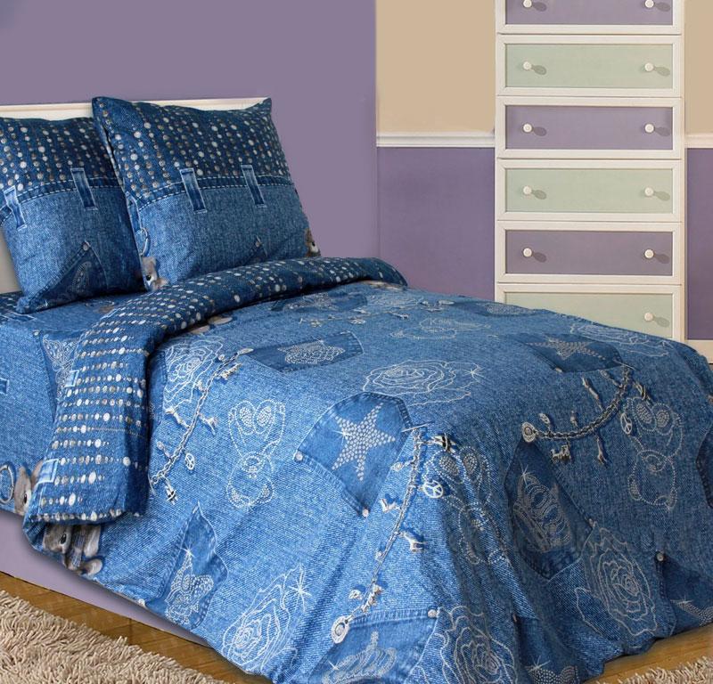 Постельное белье Блакит Джинс