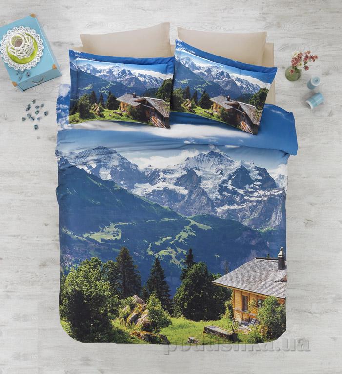 Постельное белье Cotton Box Alpin Двуспальный евро комплект  Cotton box