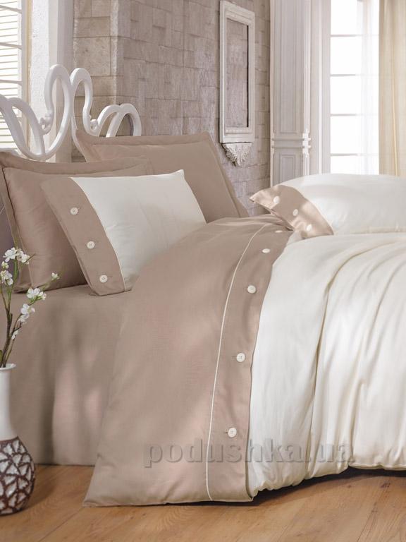 Постельное белье Cotton Box Fashion Bej-2 Двуспальный евро комплект  Cotton box