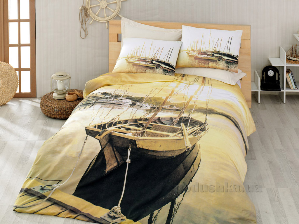 Постельное белье Cotton Box Horizon golden