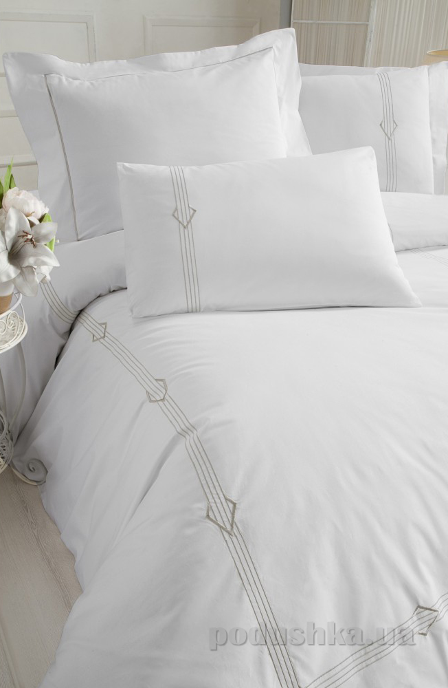 Постельное белье Cotton Box Сатин с вышивкой Bianka