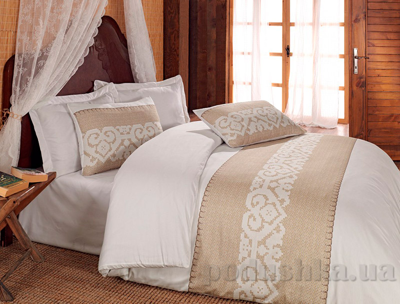 Постельное белье Cotton Box Sukran Bej