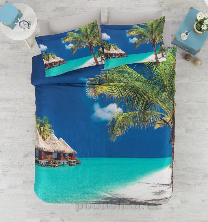 Постельное белье Cotton Box Tropical Двуспальный евро комплект  Cotton box