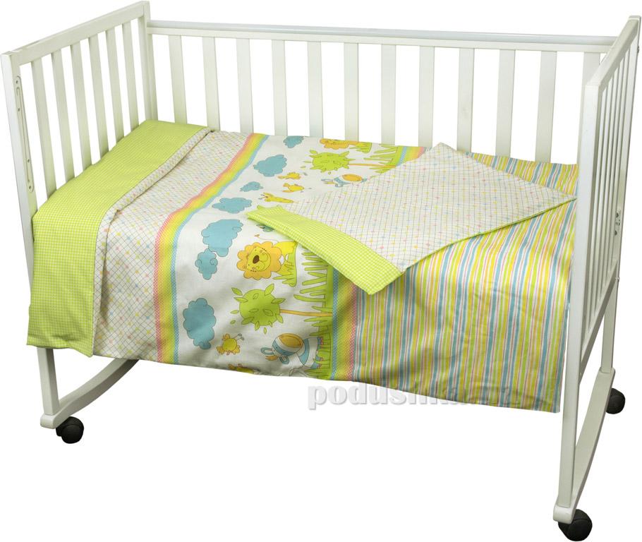 Постельное белье для младенцев Руно Джунгли