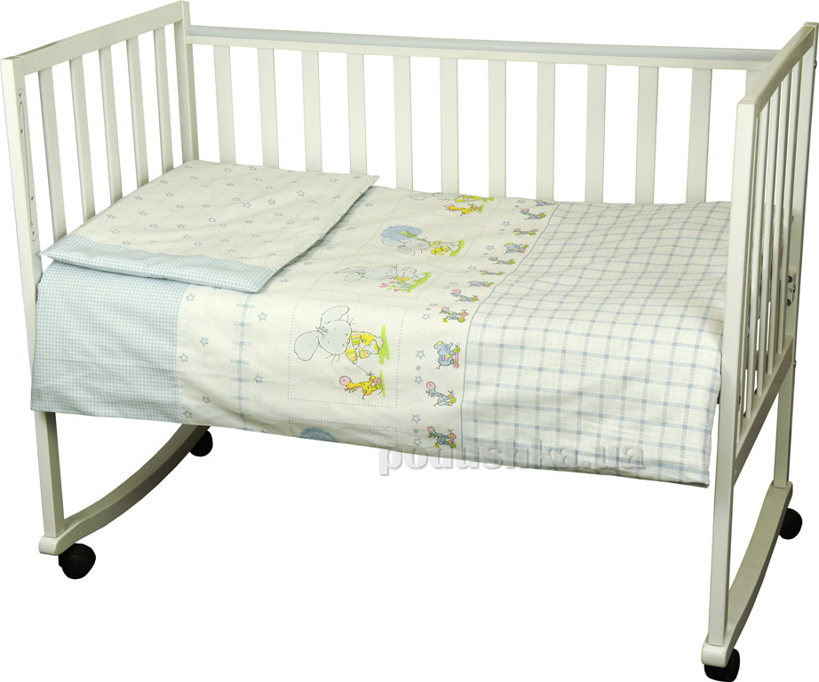 Постельное белье для младенцев Руно Зайка на прогулке