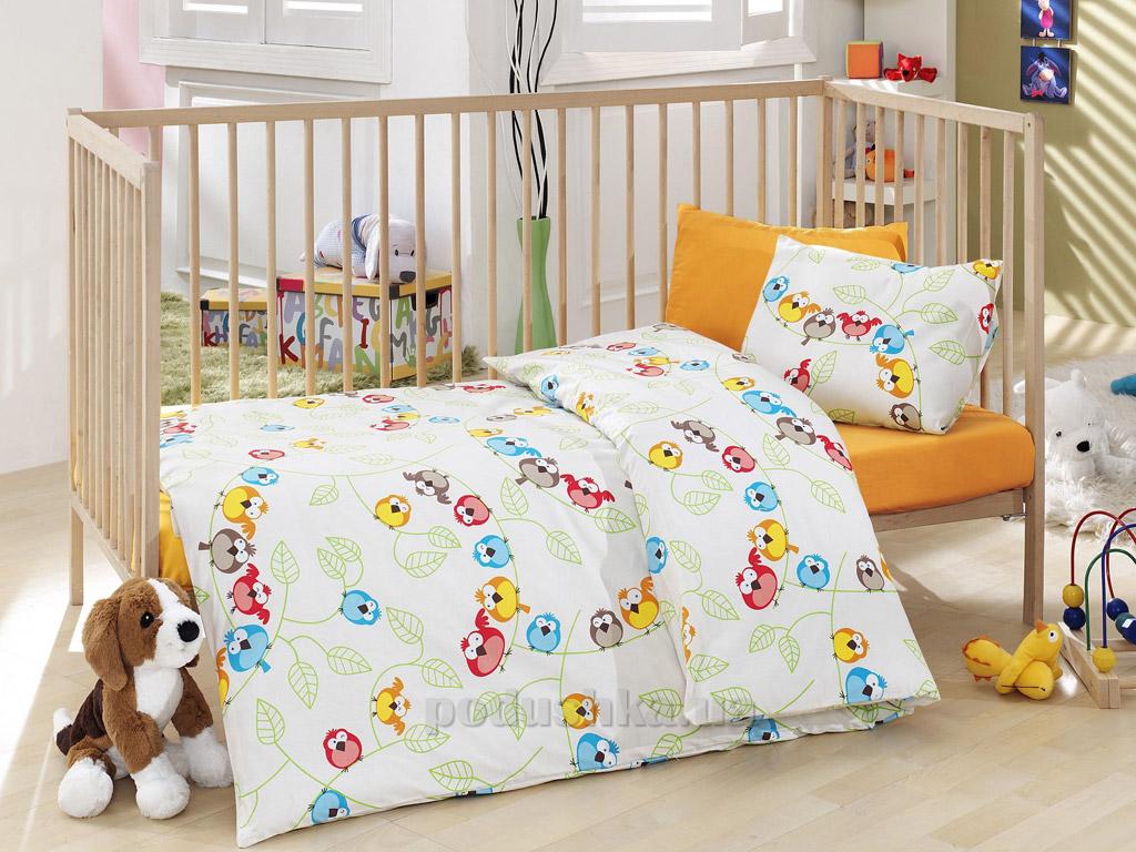 Постельное белье для новорожденных Cotton Box Cik Cik sari