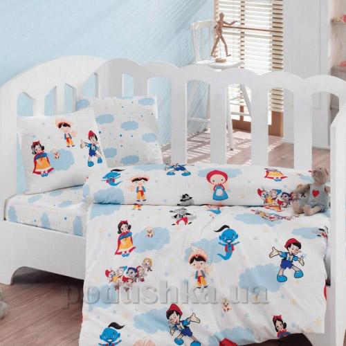 Постельное белье для новорожденных Cotton Box Masal Dunyasi bordo