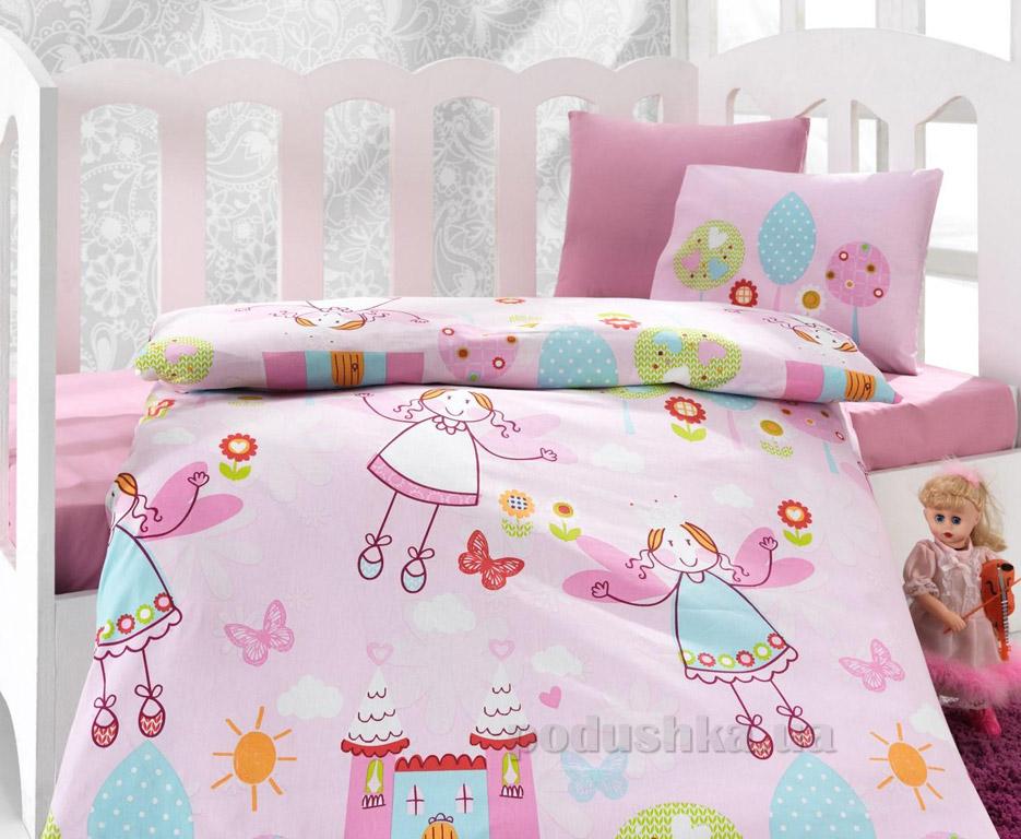Постельное белье для новорожденных Cotton Box Masal pembe