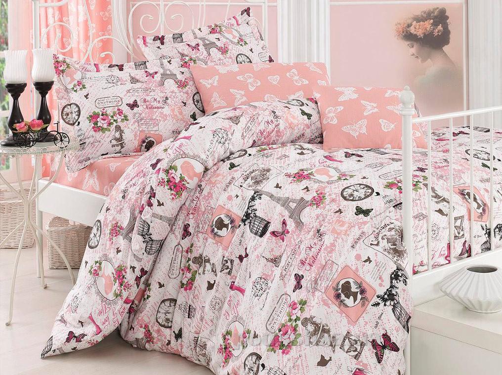 Постельное белье Eponj Madame розовое