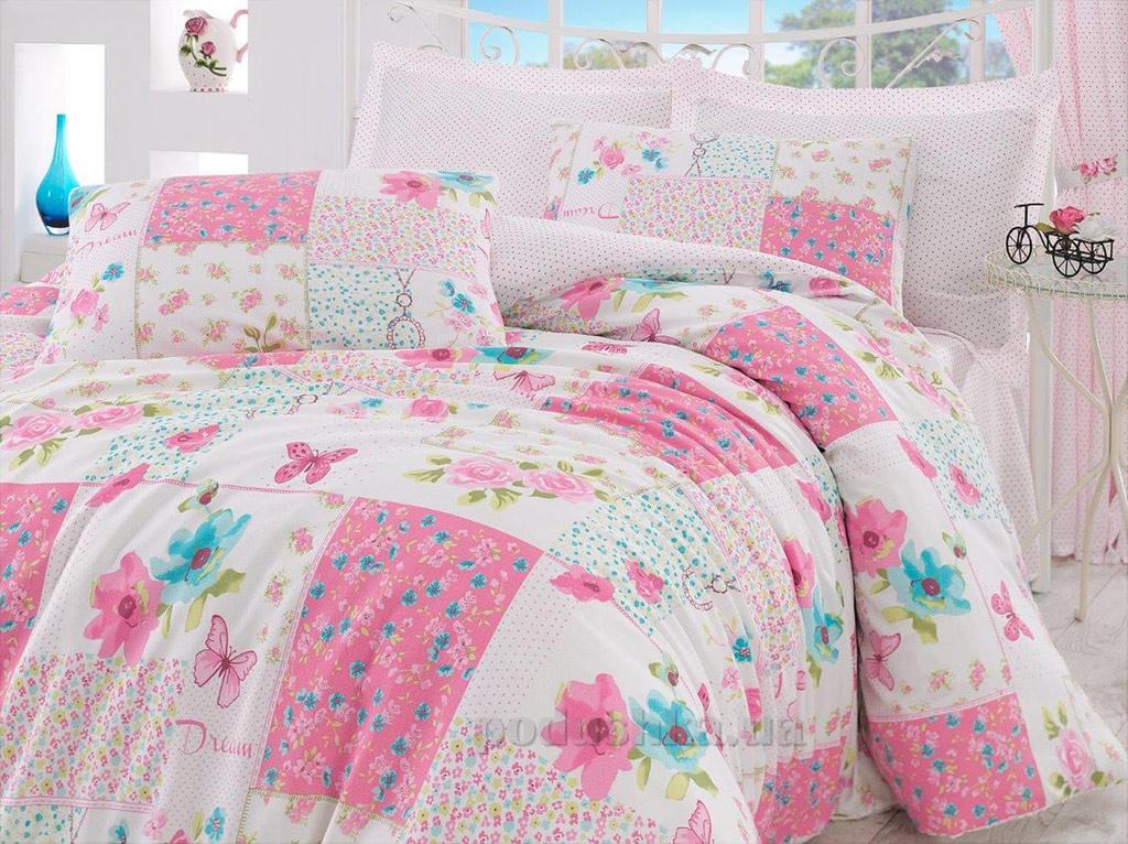 Постельное белье Eponj Marlen розовое