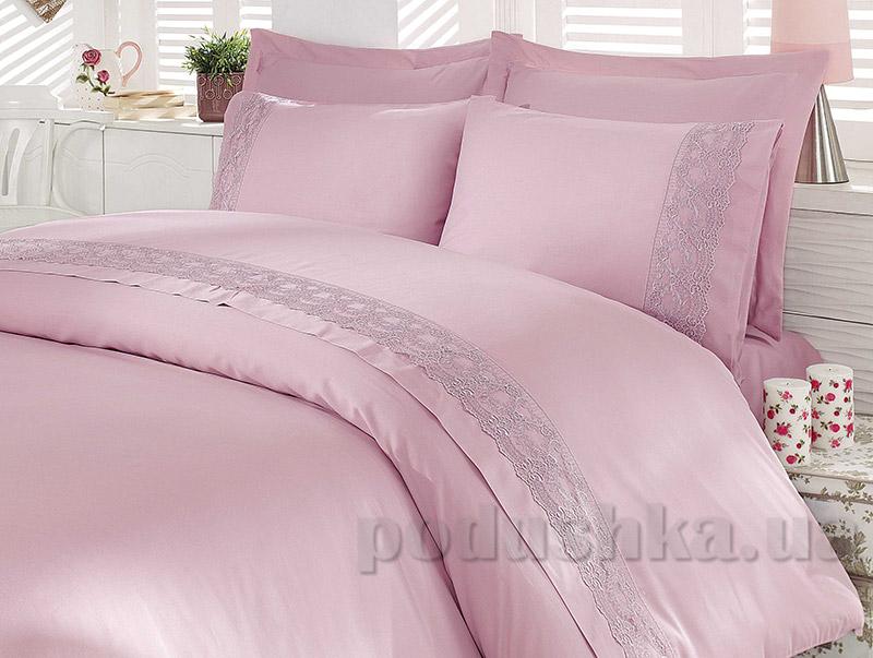Постельное белье Hobby Elit Sateen Emile темно-розовое