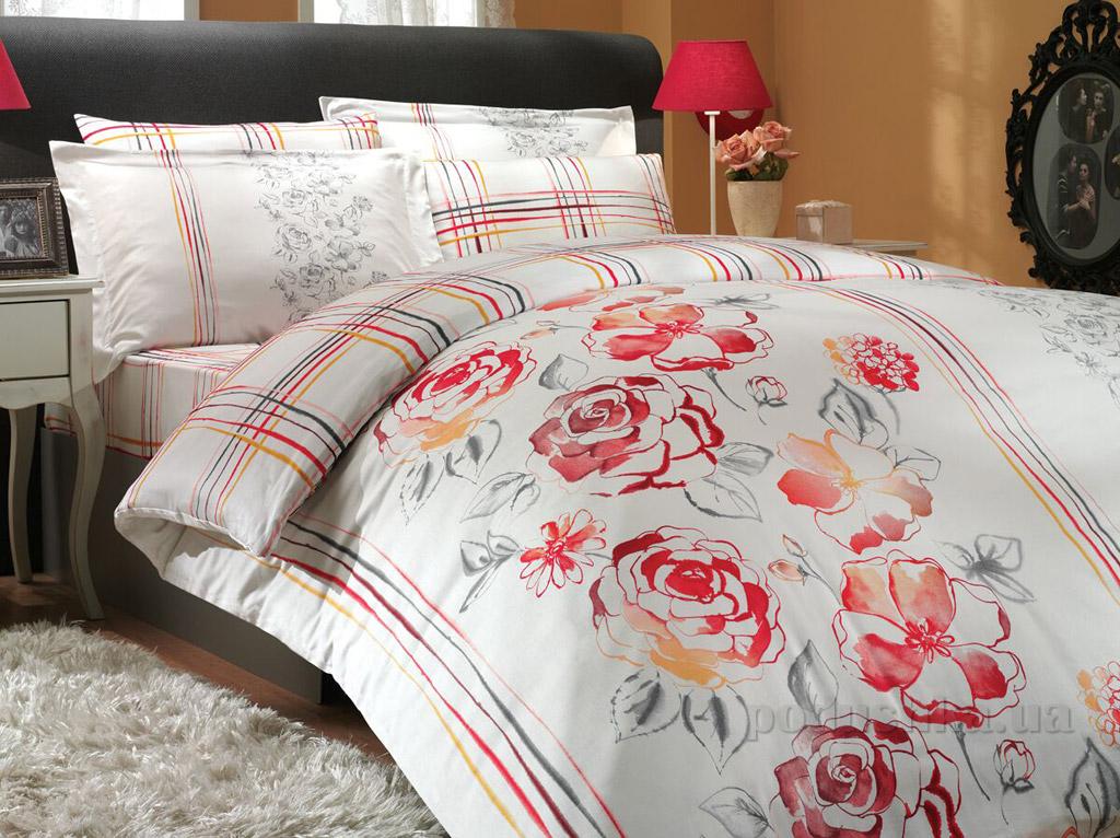 Постельное белье Hobby Exclusive Sateen Arabella красное