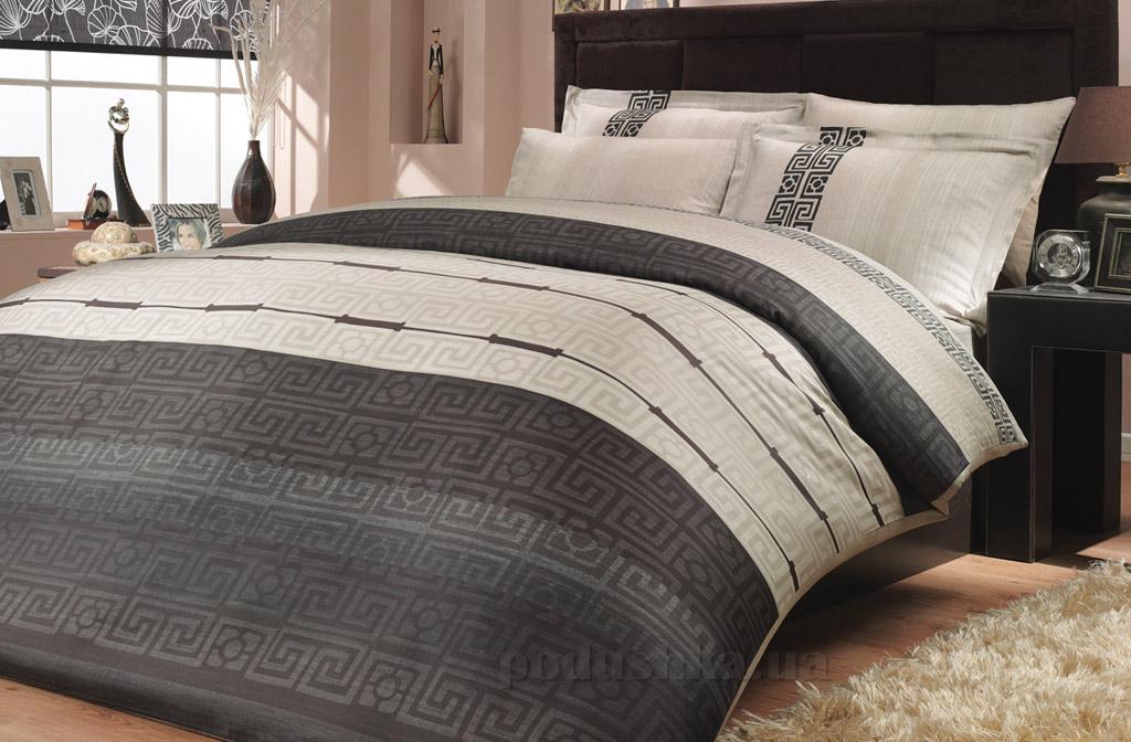 Постельное белье Hobby Exclusive Sateen Denim серый